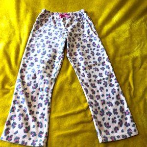 Calvin Klein Girls Fleece PJ Pants